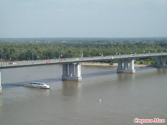новый мост через обь: