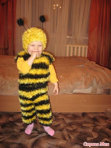 Новогодние костюмы пчелы своими руками