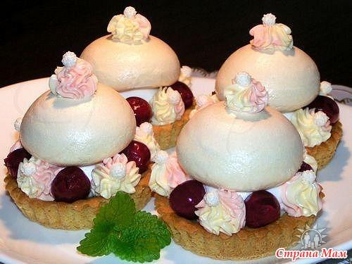 Торты и пироженые рецепты и фото