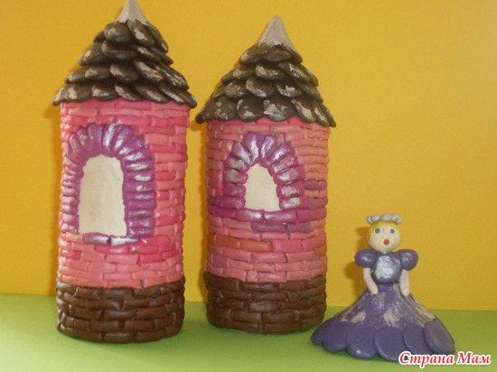 Как сделать замок из пластилина своими руками - ПРОСПЕКТ
