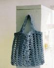 Вязаные ажурные, сетчатые сумки и авоськи.