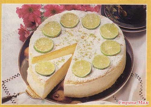 Рецепт диетического творожного торта