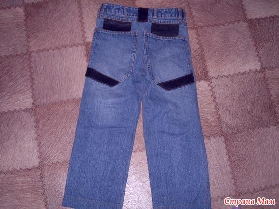 Как из своих джинсов сшить ребенку джинсовый комбинезон