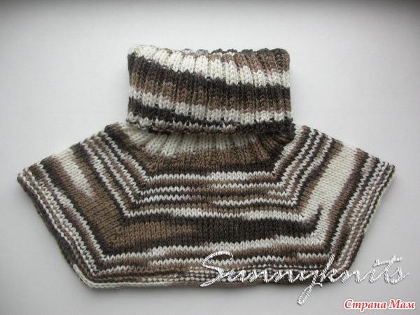 Схемы для вязания манишки