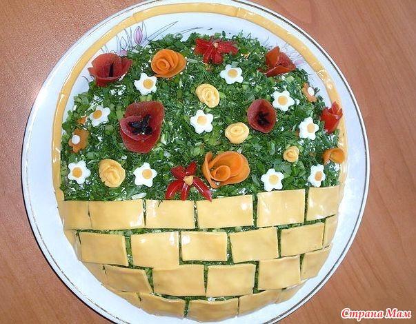 красивый салат с фото для конкурса