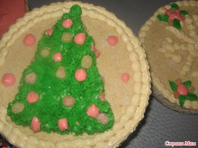 идей новогодних тортов фото
