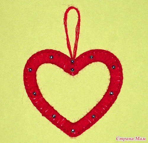 Рамка своими руками ко дню святого валентина