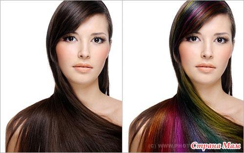 Фотошоп как сделать волосы длиннее
