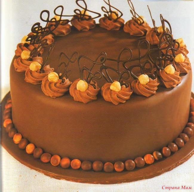 Как украсить торт фотографии