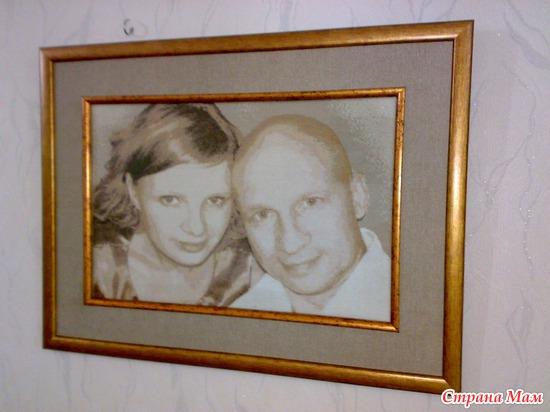 Вышивка крестом фото портрет