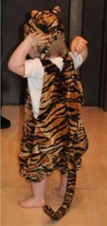 Костюм тигра своими руками фото