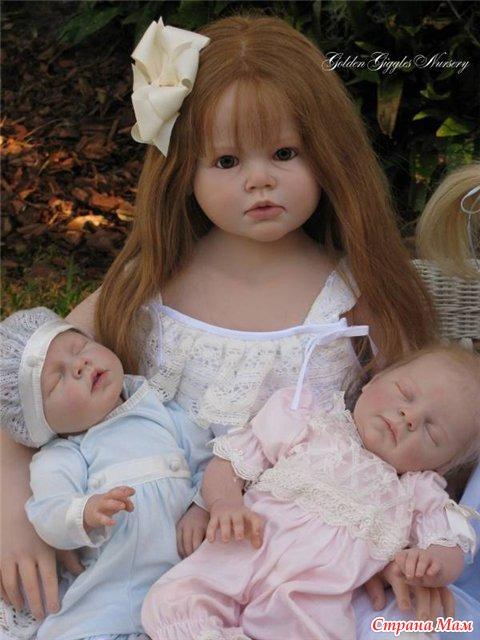 Большие куклы реборн фото