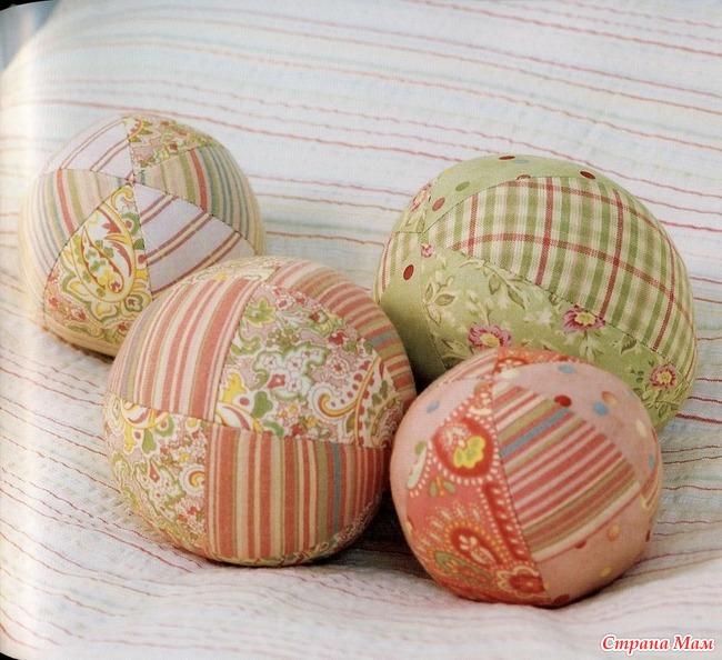 Как сделать мягкий шарик