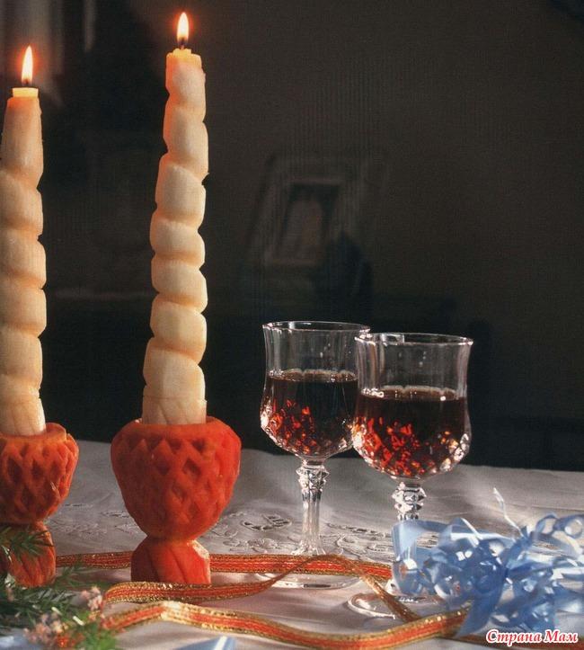 Длинная свеча своими руками 160