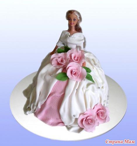 Фото торты для дев