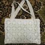 Пляжные сумки крючком, также пляжные сумки вязанные крючком, схема вязания крючком сумок.