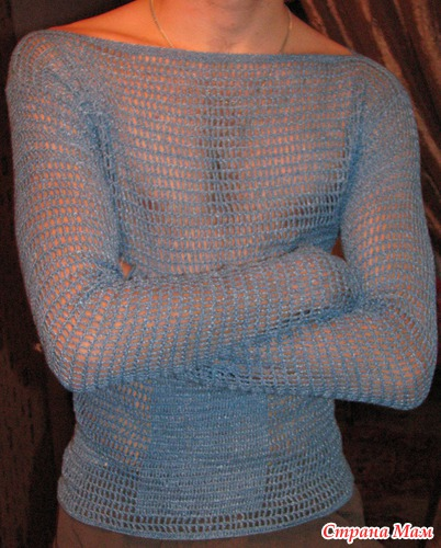 Пуловер Сетка