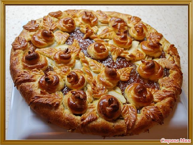 Рецепт Дрожжевого Пирога С Творогом И Маком