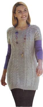 Вязание на спицах туник для женщин 329