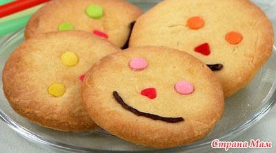 Печенье рецепт с фото детское