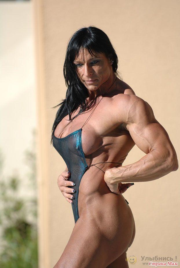 Видео мускулистая девушка