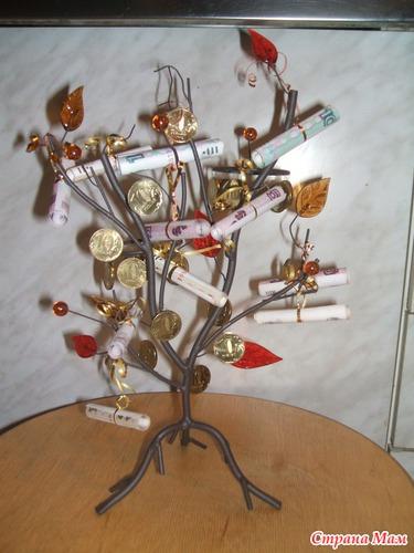 Стихи к подарку на свадьбу денежное дерево