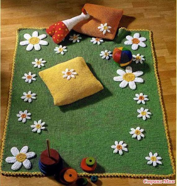 Подушки коврики пледы своими руками