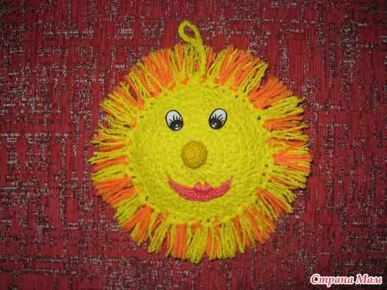 Сделать солнышко своими руками в детский сад
