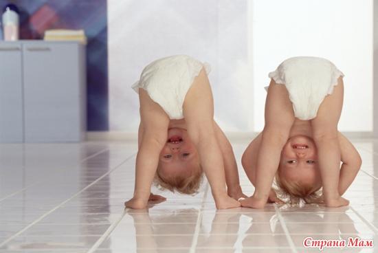 как ребенка в год и 2 остаыить правильно на ночь без подгузника