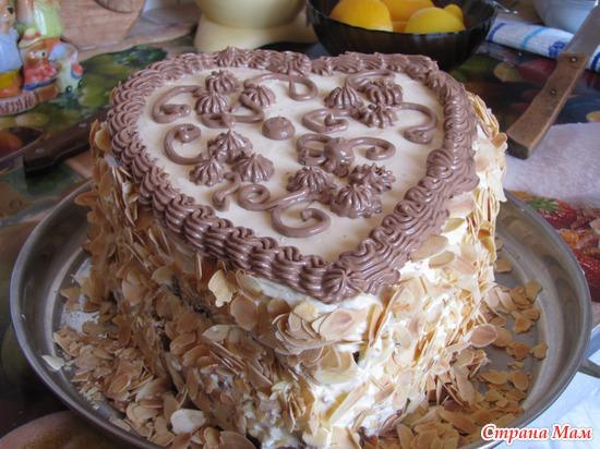 Кулинария фотографиями торты