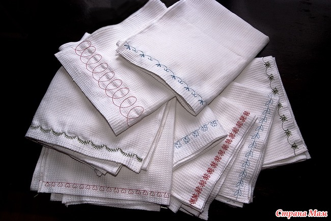 Сделать из вафельных полотенец своими руками