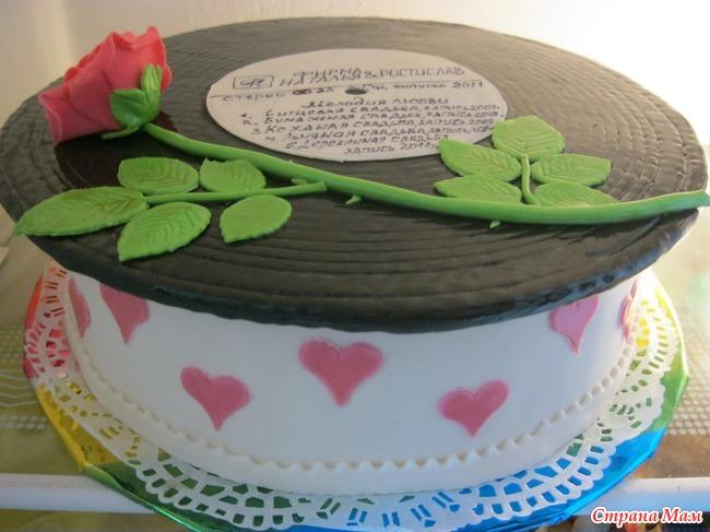 Торт из мастики на годовщину свадьбы своими руками