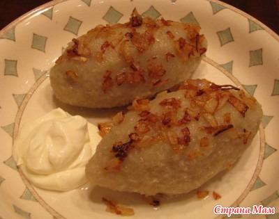 Цеппелины с мясом рецепт с фото