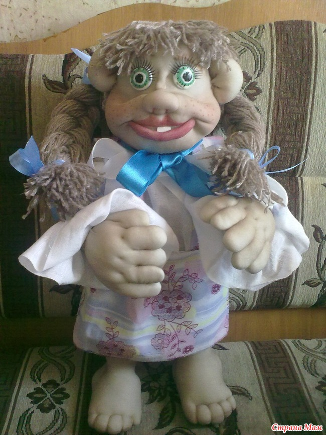 Куклы своими руками синтепон фото