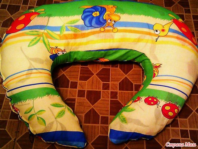 Как сшить подушку для всего тела своими руками