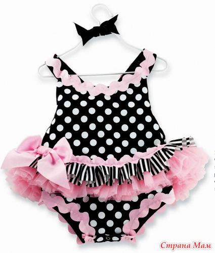 Как сшить платье боди для малышки 67