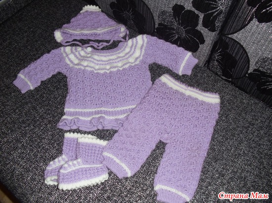 Детский костюмчик от 4мес до года.