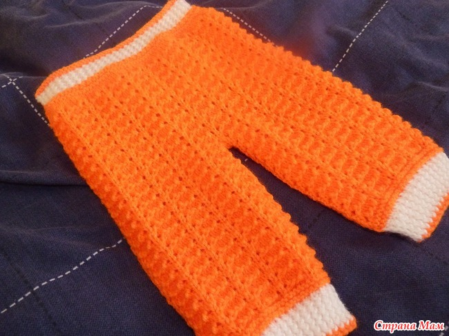 Видео вязание крючком штанишек