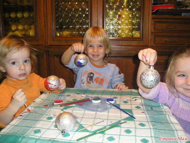 Как сделать новогоднею игрушку для детей