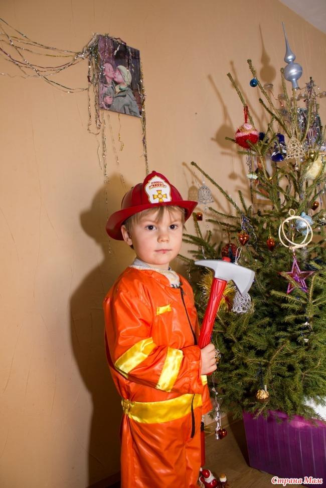 Костюм пожарного своими рук 31