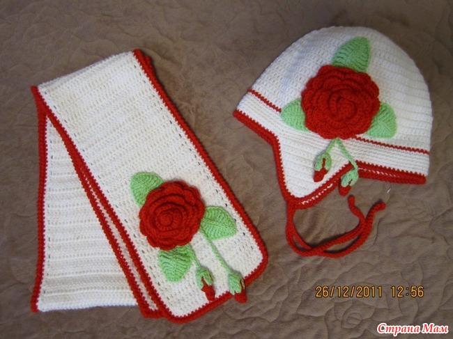 Как сделать для вязаной шапочки
