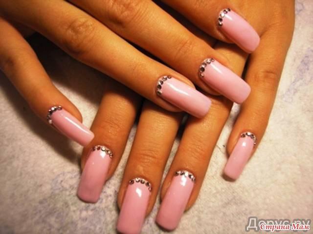 Как красиво наростить ногти