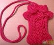 Вязание чехлы для телефона свитерок - Master class.