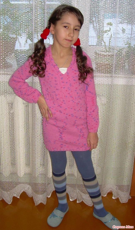 Вязание девочкам 10 12 лет.