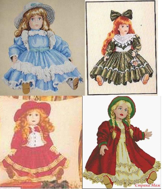 Вервако куклы вышивка