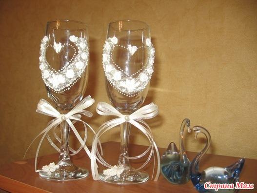 Свадебная поделка своими руками