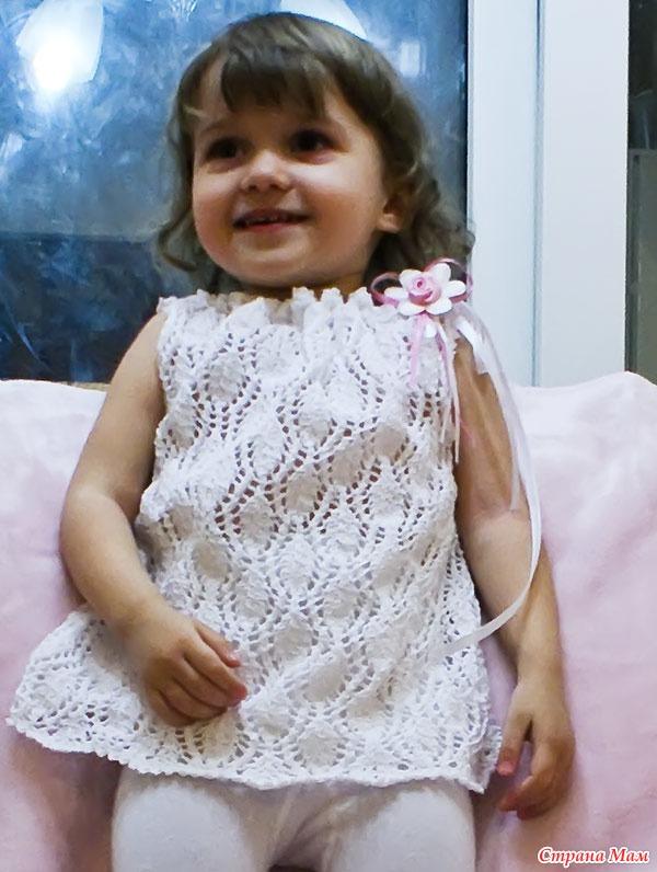 Вязание на 2 летнюю девочку 15