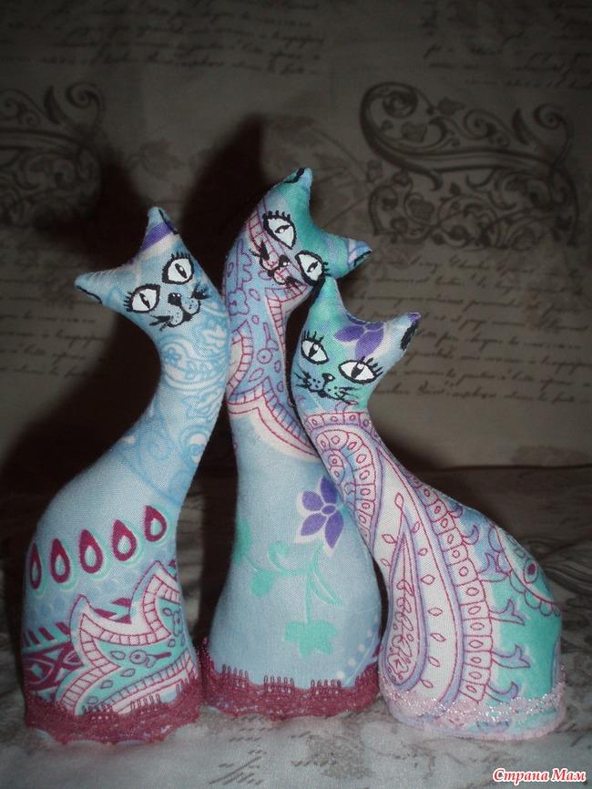 Кошка статуэтка своими руками