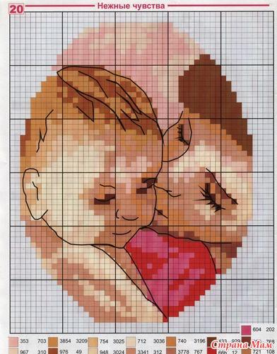 Как сделать схемы вышивки по фотографии