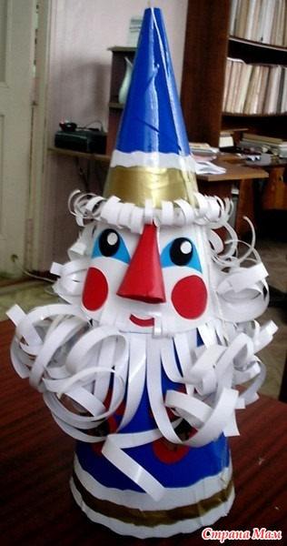 Объёмная игрушка на ёлку фото